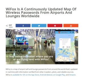 Calatoresti mult? A aparut aplicatia cu parolele WiFi din aeroporturile lumii