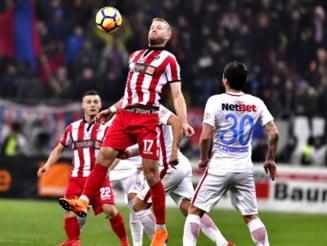 Calculele pentru calificarea in playoff-ul Ligii 1: Viitorul si Dinamo risca sa rateze Top 6