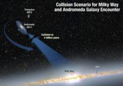 Calea Lactee se va ciocni cu Andromeda: Ce va rezulta din cele doua galaxii