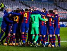 Calificare cu emotii pentru Barcelona in Cupa Spaniei. Catalanii au marcat golurile in reprizele de prelungiri, dupa ce au ratat doua penalty-uri in timpul regulamentar