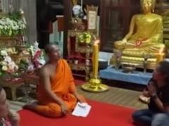 Calugarul budist caruia un copac i-a spus numerele la loto: Cat a castigat