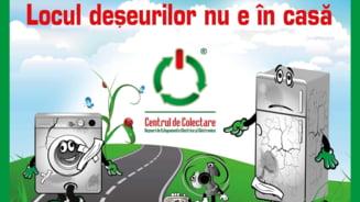 Campanie de reciclare a deseurilor, in mai multe judete din tara