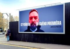 Campanie inedita pe 100 de panouri publicitare: Mi-e rusine cu premierul meu