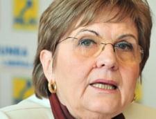 Campeanu spune ca ancheta despre pensionarea sotului a urmarit denigrarea ei