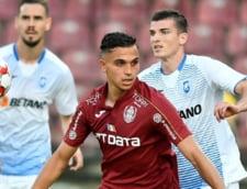 Campioana CFR Cluj a reusit transferul definitiv al lui Cristi Manea. Internationalul se antrena prin parcuri