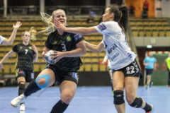Campioana Romaniei, invinsa categoric in Liga Campionilor la handbal feminin