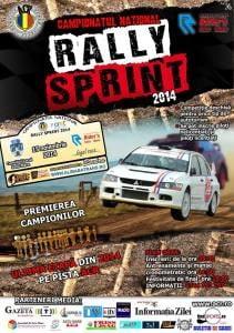 Campionatul National de Rally Sprint 2014 editia a IX-a s-a incheiat la Satu Mare cu etapa a V-a