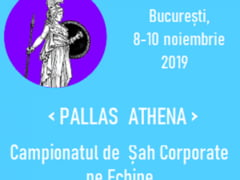 """Campionatul de Sah Corporate Pe Echipe """"PALLAS ATHENA"""""""