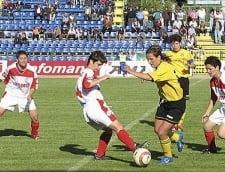 Campionatul de fotbal feminin continua cu scoruri de ''curtea scolii''