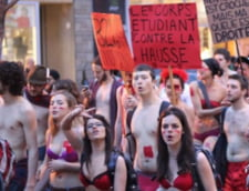 Canada: Protest in pielea goala
