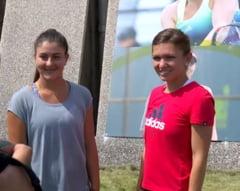 Canadienii prezinta o imagine de colectie cu Simona Halep si Bianca Andreescu: Momentul care i-a schimbat cariera tinerei sportive