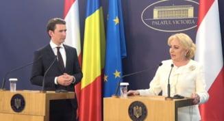 Cancelarul Austriei vrea sa discute cu Dancila despre grijile privind statul de drept si abordarea investitorilor straini