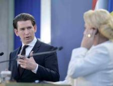 Cancelarul Kurz, pus la colt la bilantul presedintiei UE: Ne-ati facut de rusine! Un austriac raspunde: Uitati-va la Romania, nu sunteti in pozitia sa aratati cu degetul