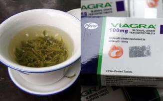 Cancerul, oprit cu ceai verde si Viagra?