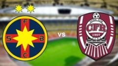 Cand sunt programate meciurile dintre FCSB si CFR Cluj, care vor decide titlul in Liga I