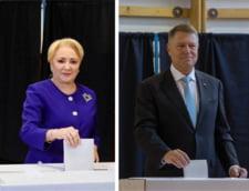 Candidatii care refuza sa raspunda la intrebari. Vreti sau nu o dezbatere Iohannis-Dancila? Sondaj Ziare.com