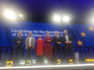 Candidatii de varf la alegerile europarlamentare