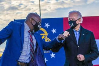 Candidatul democrat Raphael Warnock isi revendica victoria in alegerile pentru Senat in statul Georgia