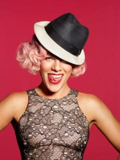 Cantareata Pink a fost desemnata cel mai frumos om din lume