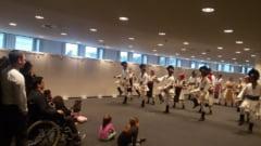 Cantece populare romanesti si dansuri, in sediul Parlamentului European (Foto)