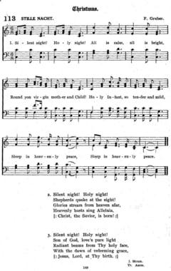 Cantecul care a cucerit lumea in noaptea Nasterii Domnului (Video)
