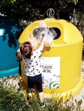 Cantitati de deseuri reciclabile in crestere in judetul Dolj