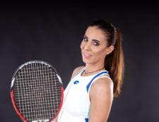 Capat de drum pentru Mihaela Buzarnescu la turneul de tenis de la Cluj. Romanca nu pleaca cu mana goala acasa