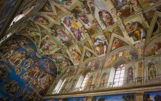 Capela Sixtina, in pericol din cauza transpiratiei si prafului adus de turisti