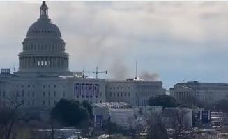 Capitoliul din Washington, inchis din cauza unei amenintari in domeniul securitatii. O repetitie a ceremoniei de investire a lui Biden, suspendata