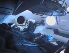 Capsula Dragon s-a conectat cu succes la Statia Spatiala Internationala: Musk spera ca vara asta va duce si oameni