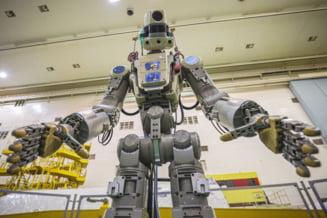 Capsula Soyuz cu robotul umanoid Fiodor nu a reusit sa se conecteze la Statia Spatiala