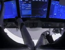 Capsula SpaceX a parasit Statia Spatiala Internationala pentru a reveni pe Pamant