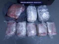 Captura de aproape 12 kilograme de canabis, la Vama Giurgiu! (FOTO)