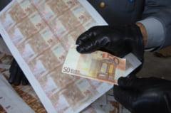 Captura record de euro falsi, pusi in circulatie in mai multe tari din UE