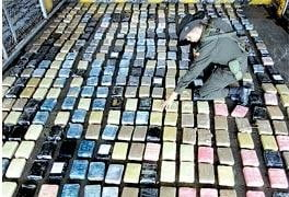 Captura record in Columbia: 3,5 tone de cocaina