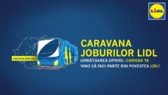 Caravana joburilor Lidl ajunge in Roman, Piatra Neamt si Tirgu Neamt