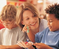 Carduri cu puncte, recompensa pentru copiii ascultatori