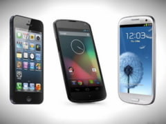 Care e cel mai bun telefon: Galaxy S3, iPhone 5 sau Nexus 4? (Video)