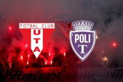 Care este pretul biletelor pentru UTA-Poli derbyul vestului de duminica
