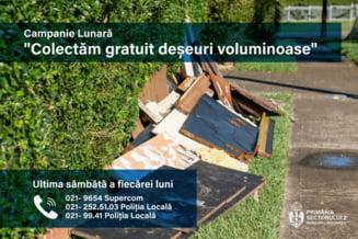 Care este ziua în care locuitorii din Capitală pot arunca deşeurile voluminoase. Ce trebuie să ştie şi ce au de făcut