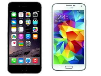 Care smartphone este mai bun: iPhone 6 sau Samsung Galaxy S5? (Video)