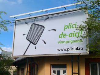 Caricaturi electorale: Udrea il alearga cu un plici pe Prigoana