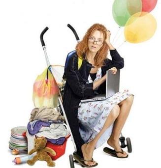 Cariera sau familie - Cu ce pret le poate face o femeie pe amandoua?