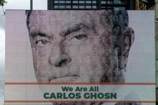 Carlos Ghosn a demisionat din functiile de presedinte si director general al Renault