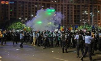 Carmen Dan a cerut jandarmeriei sa faca o demonstratie cu gaze lacrimogene, pentru cei interesati