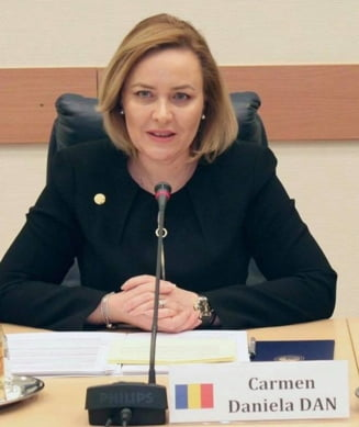 Carmen Dan anunta ca a pus ofiteri pregatiti sa ajute in ancheta pentru violentele din 10 august