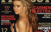Carmen Electra, rapitoare in Playboy