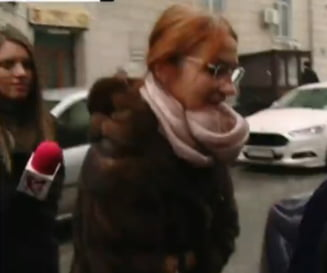 Carmen Mihalcescu, vicepresedintele Camerei, la DNA: Am venit sa beau o cafea