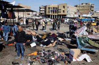 Carnagiu la Bagdad, in cel mai sangeros atentat din ultimii 3 ani. Bilantul provizoriu arata 32 de morti si peste 100 de raniti