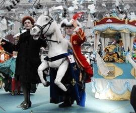 Carnavalul de la Venetia: Romania, ignorata de public (fotoreportaj)